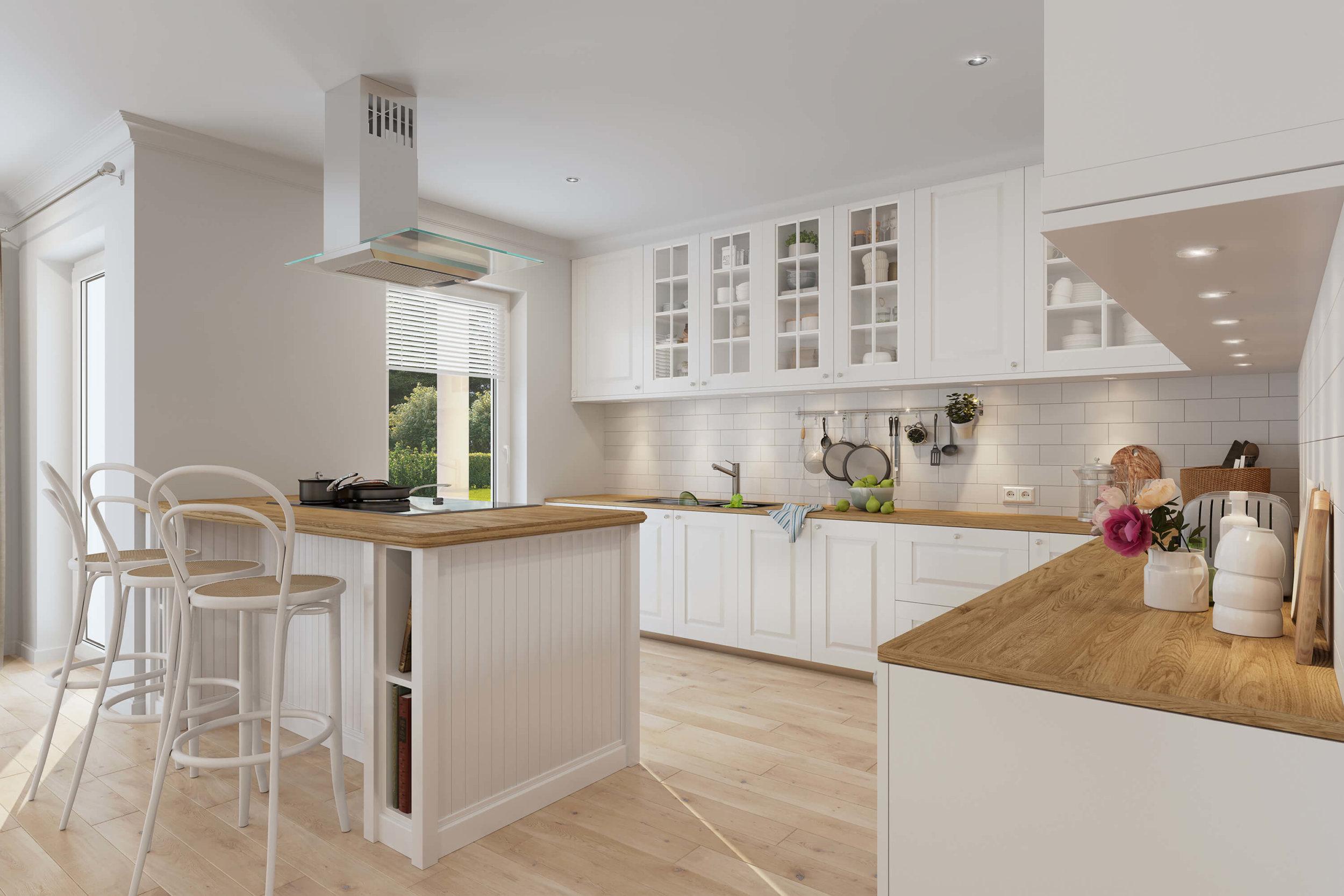 3d Visualisierung Küche 2