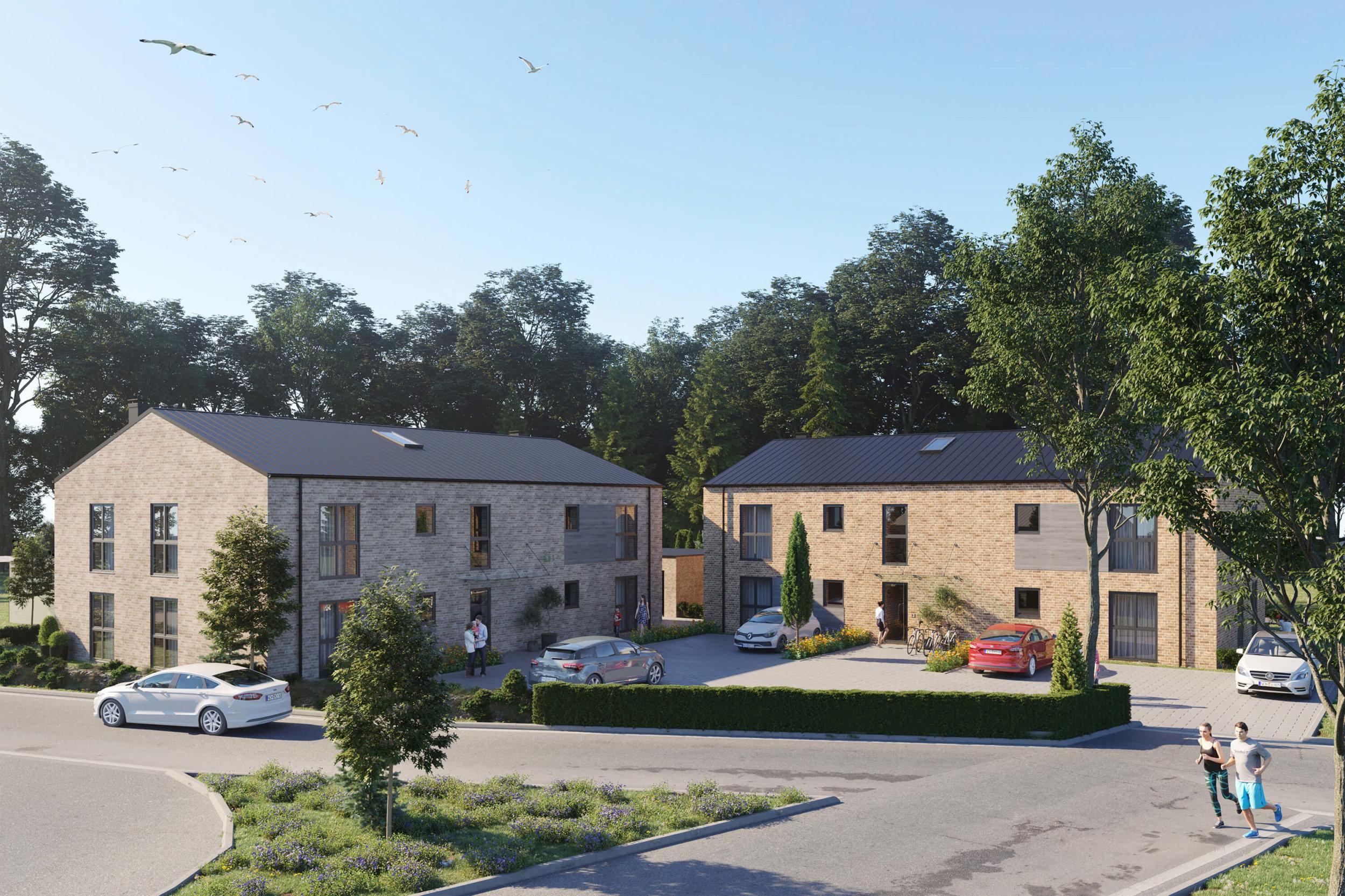 3d Visualisierung Mehrfamilienhaus2