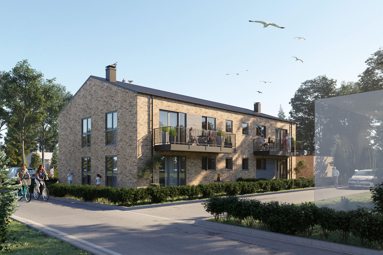 Mehrfamilienhaus 3d Visualisierung2
